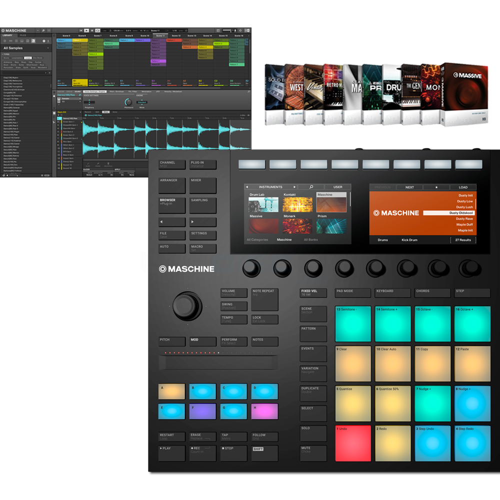 Native Instruments Maschine MK3 + Komplete Select