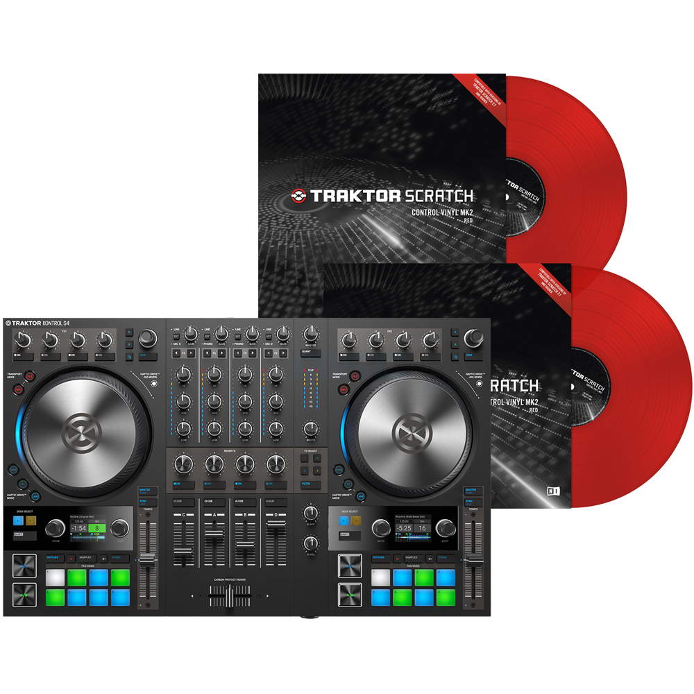 Traktor mk2 vinyl | Traktor Kontrol S4 MK2  2019-05-27