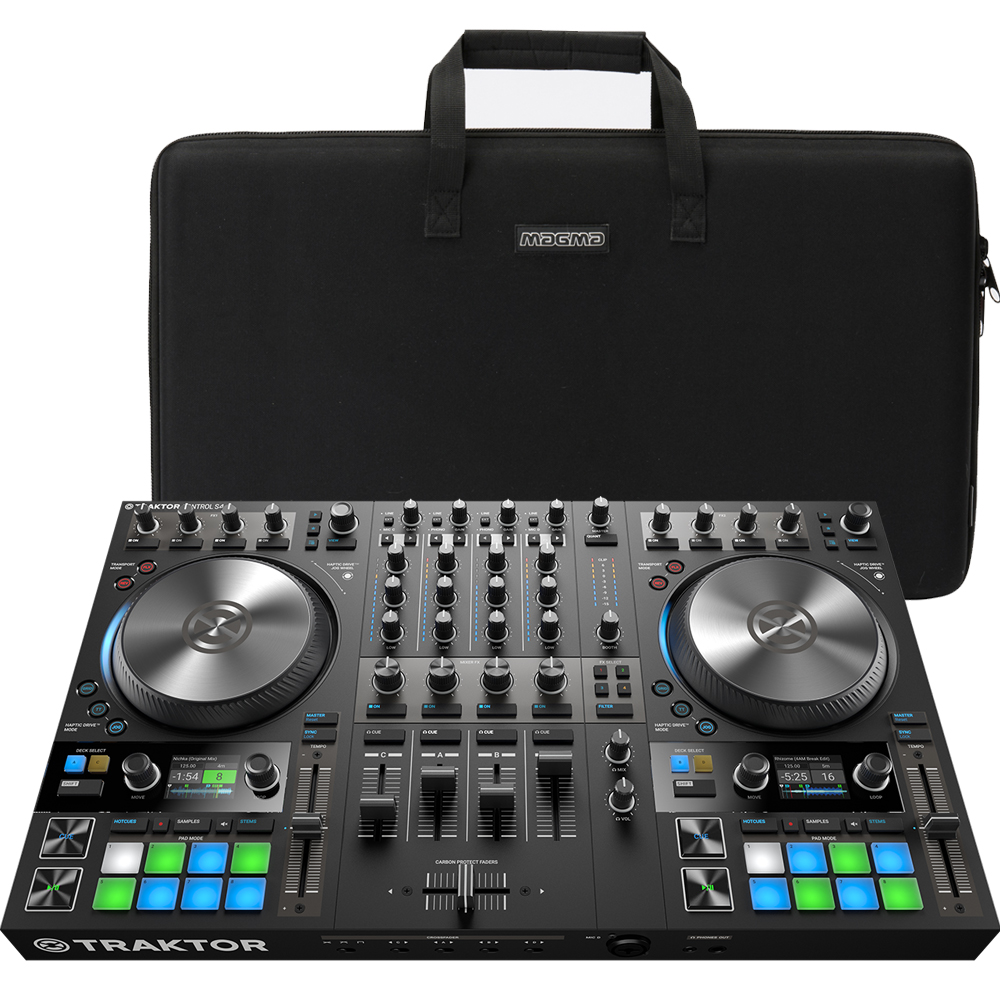 NI Traktor Kontrol S4 MK3 + Magma CTRL Bag Bundle Deal