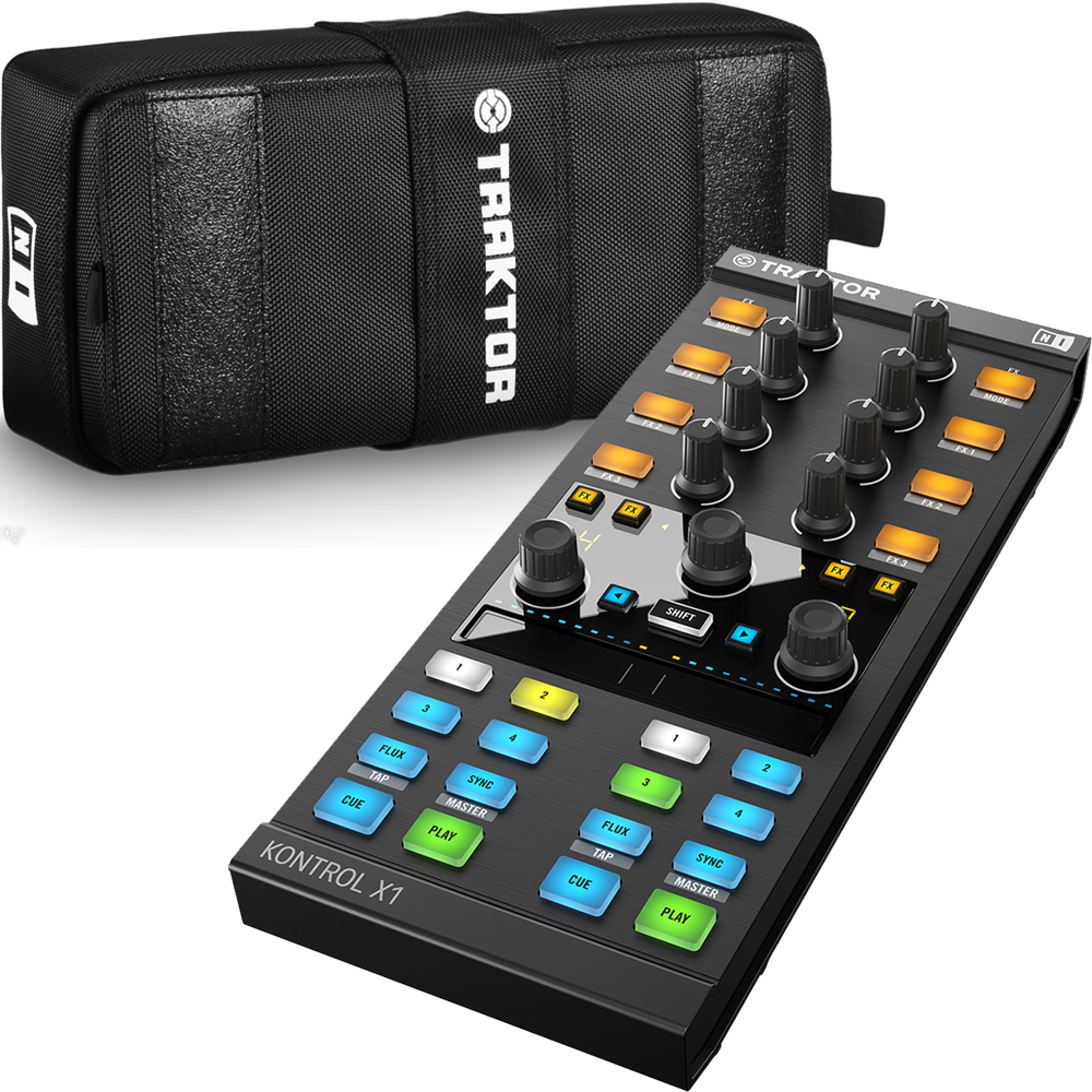 Native Instruments Traktor Kontrol X1 MK2 + Official Carry Case