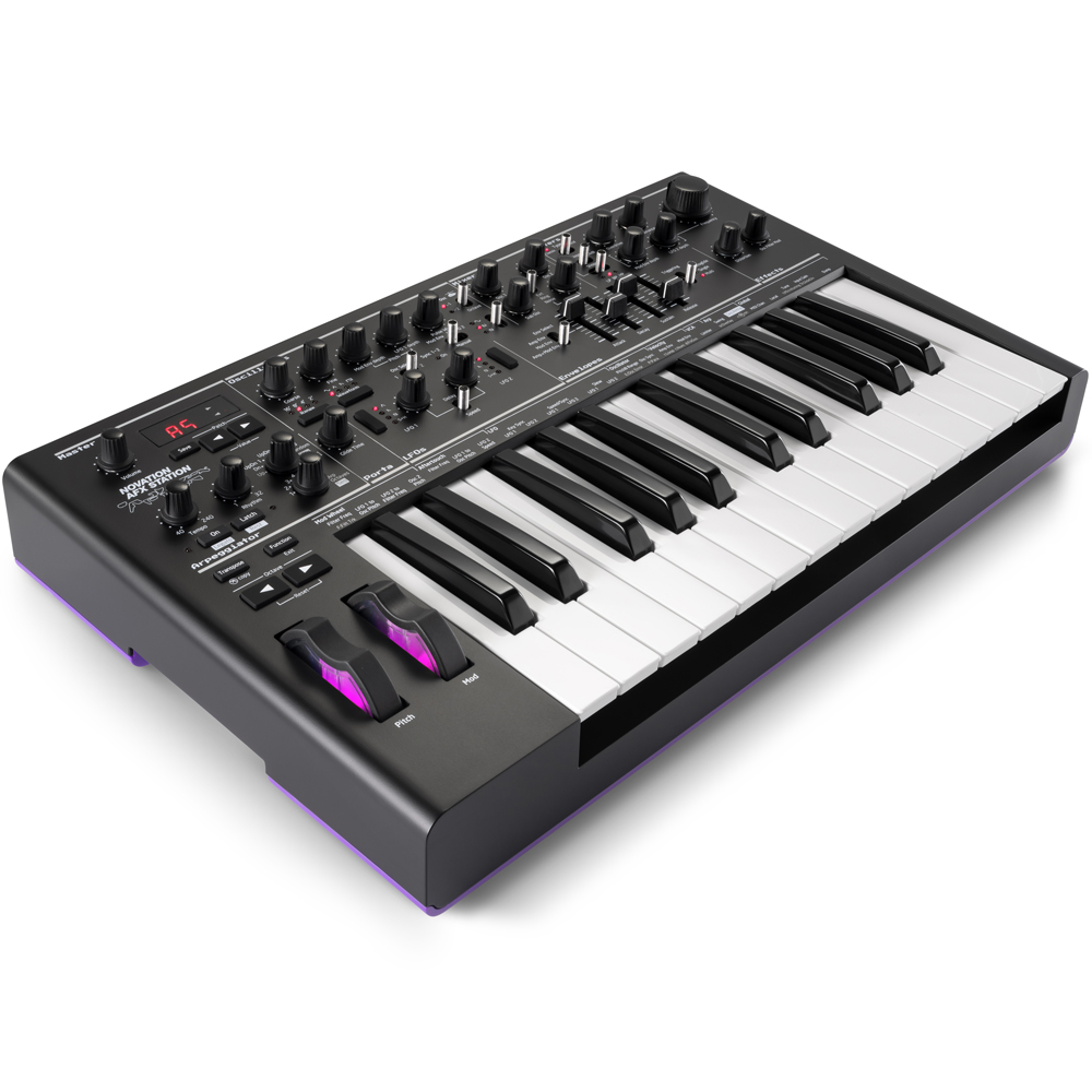 Novation AFX Station, Limited Edition Aphex Twin Bass Station 2 Synth