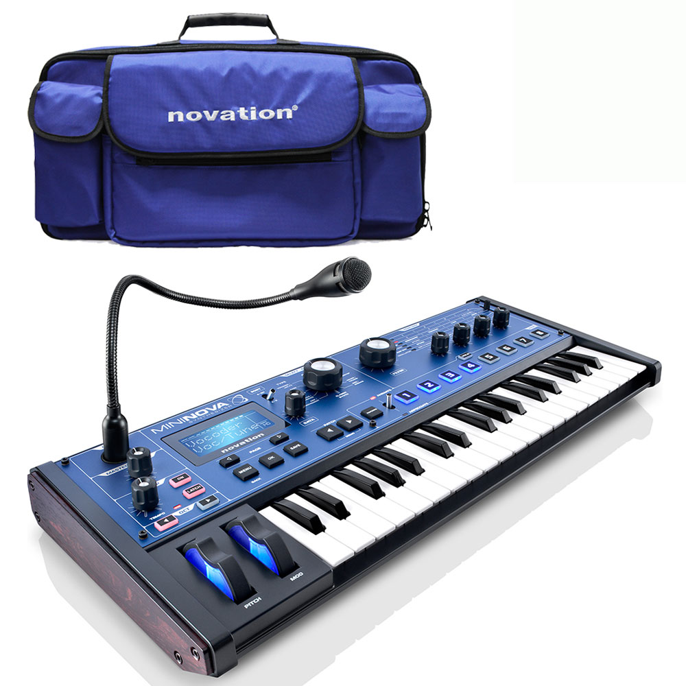 Novation Mininova Compact Synthesizer + Free Official Bag