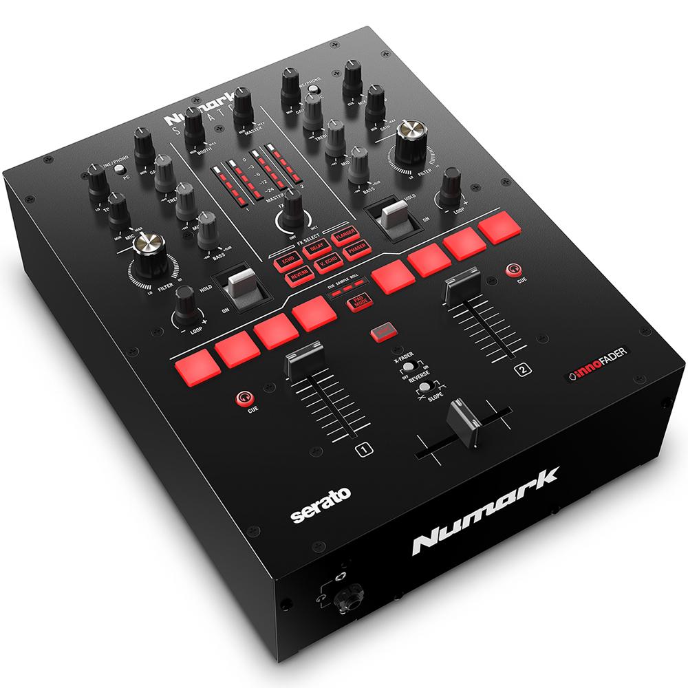 Numark Scratch, DJ Mixer + Serato DJ Pro & DVS Software