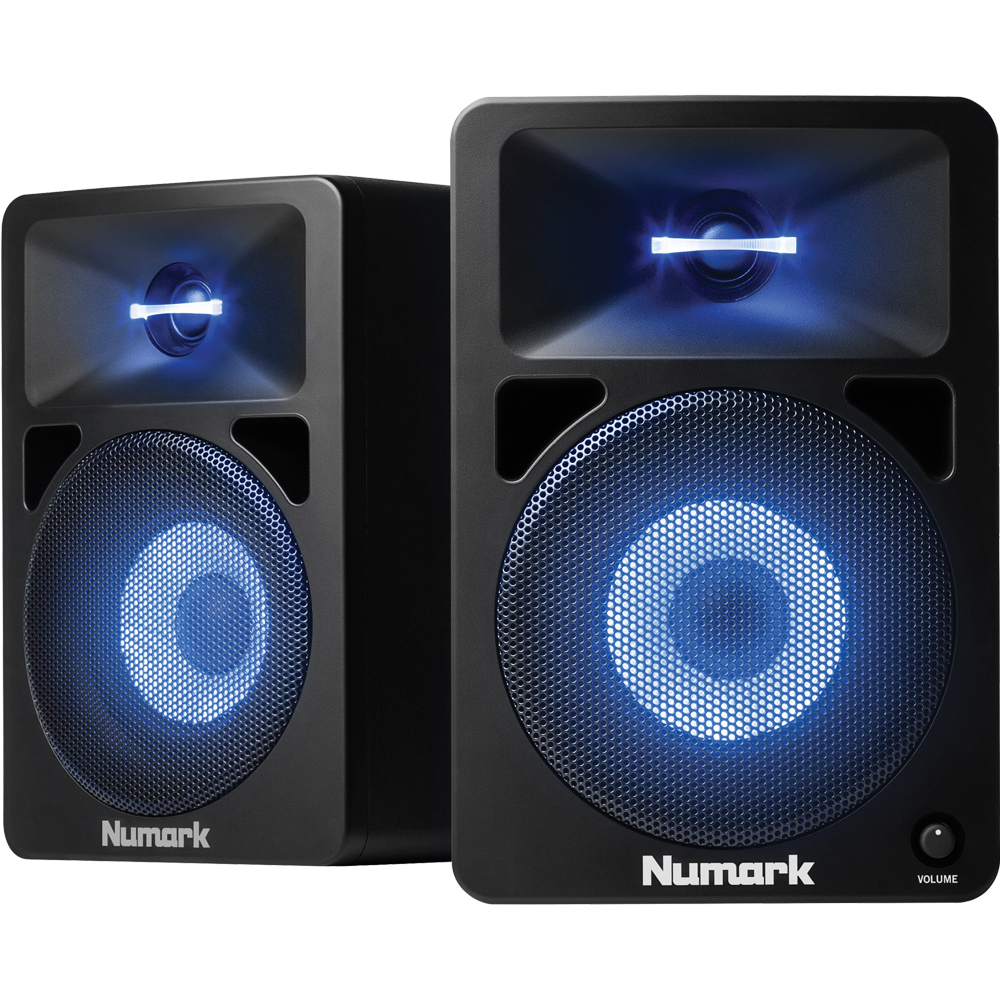 Numark N-Wave 580L Powered Desktop DJ Monitors