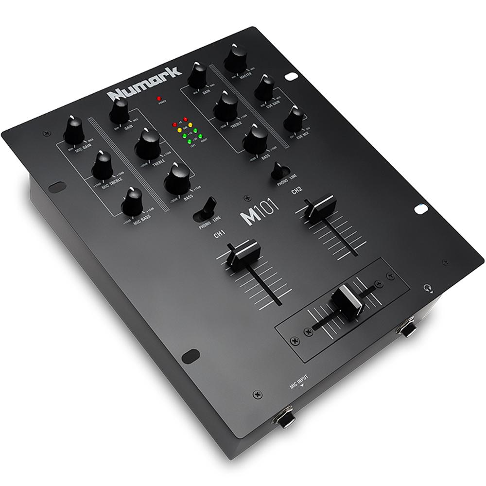 Numark M101 2 Channel Dj Mixer The Disc Dj Store