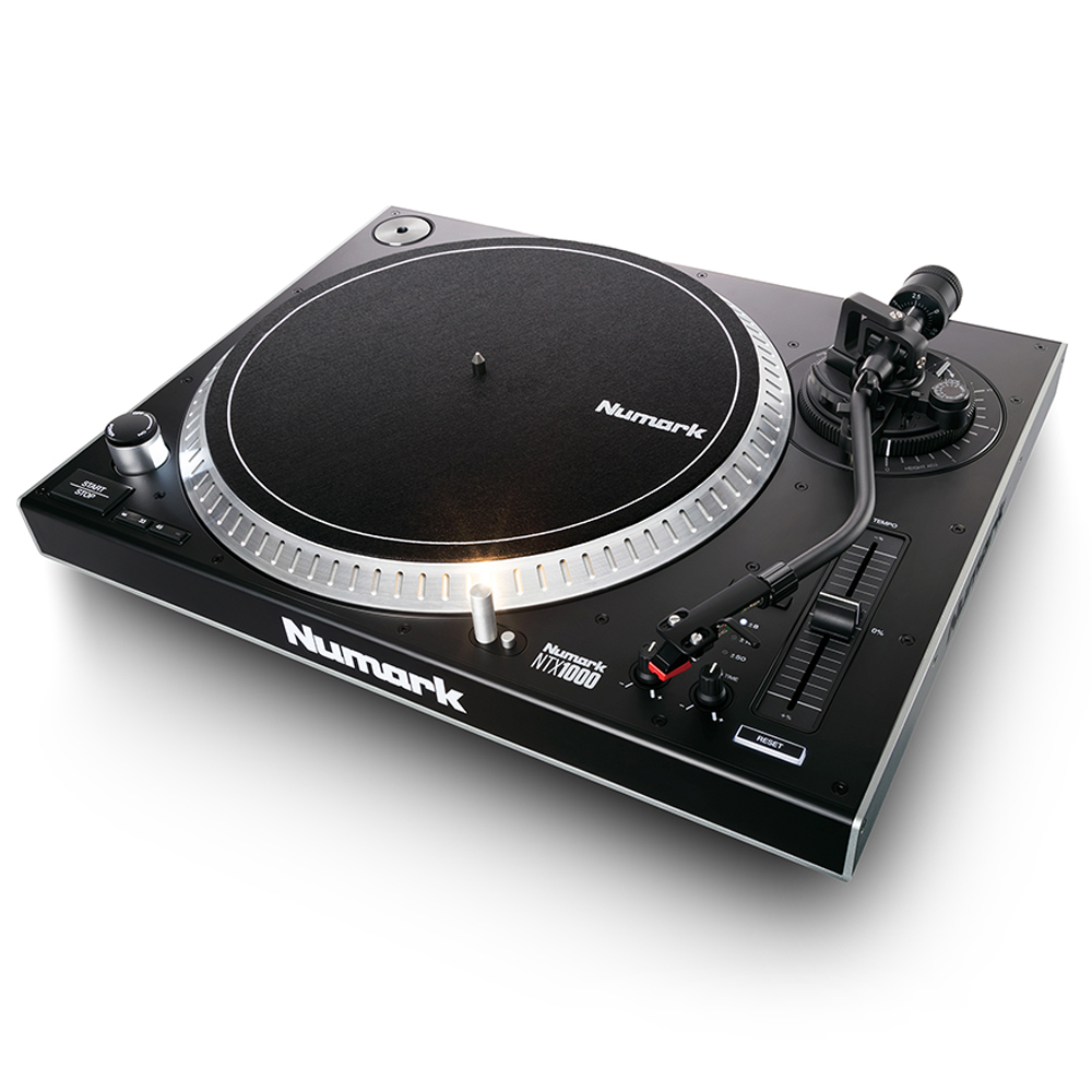 Numark NTX1000 Pro High-Torque, Direct Drive DJ Turntable (Single)
