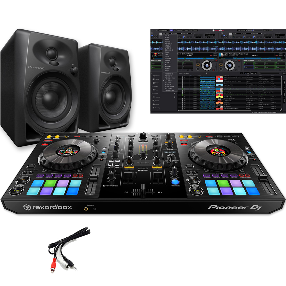 Pioneer DDJ-800, Rekordbox DJ Software & DM-40 Speakers Bundle Deal