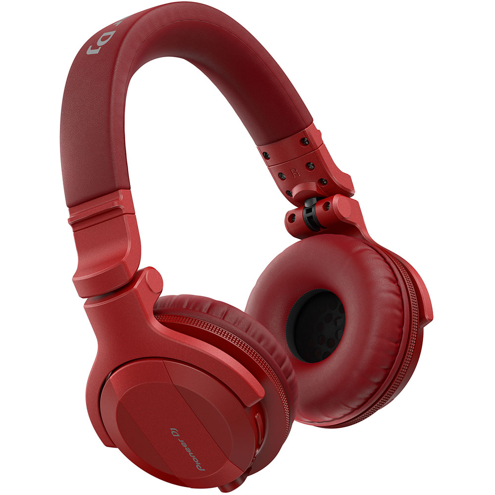 Pioneer HDJ-CUE1BT-R DJ Headphones With Bluetooth (Red)