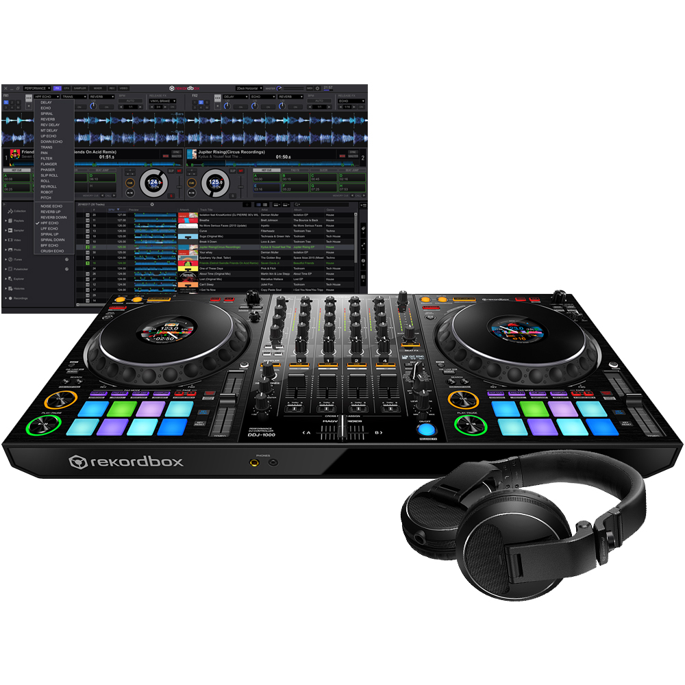 Pioneer DDJ-1000 + HDJ-X Headphones Bundle Deal