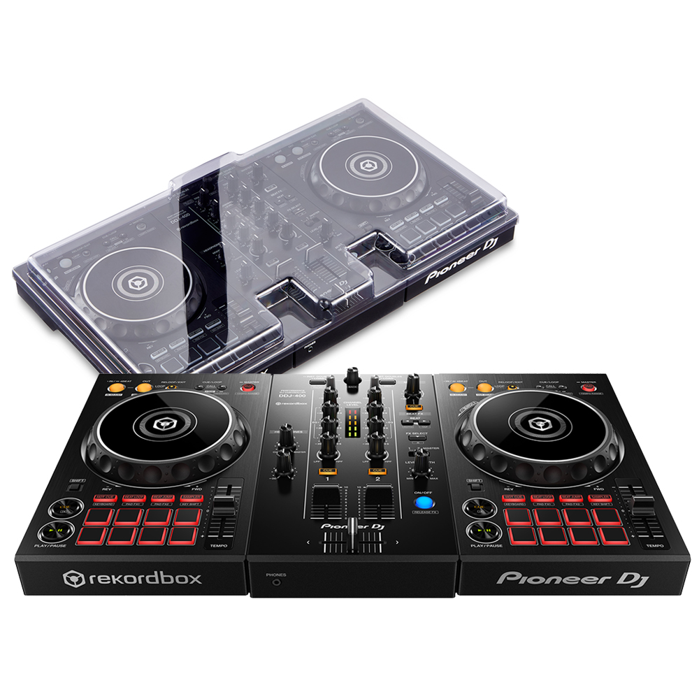 Pioneer DDJ-400 + Decksaver Bundle Deal