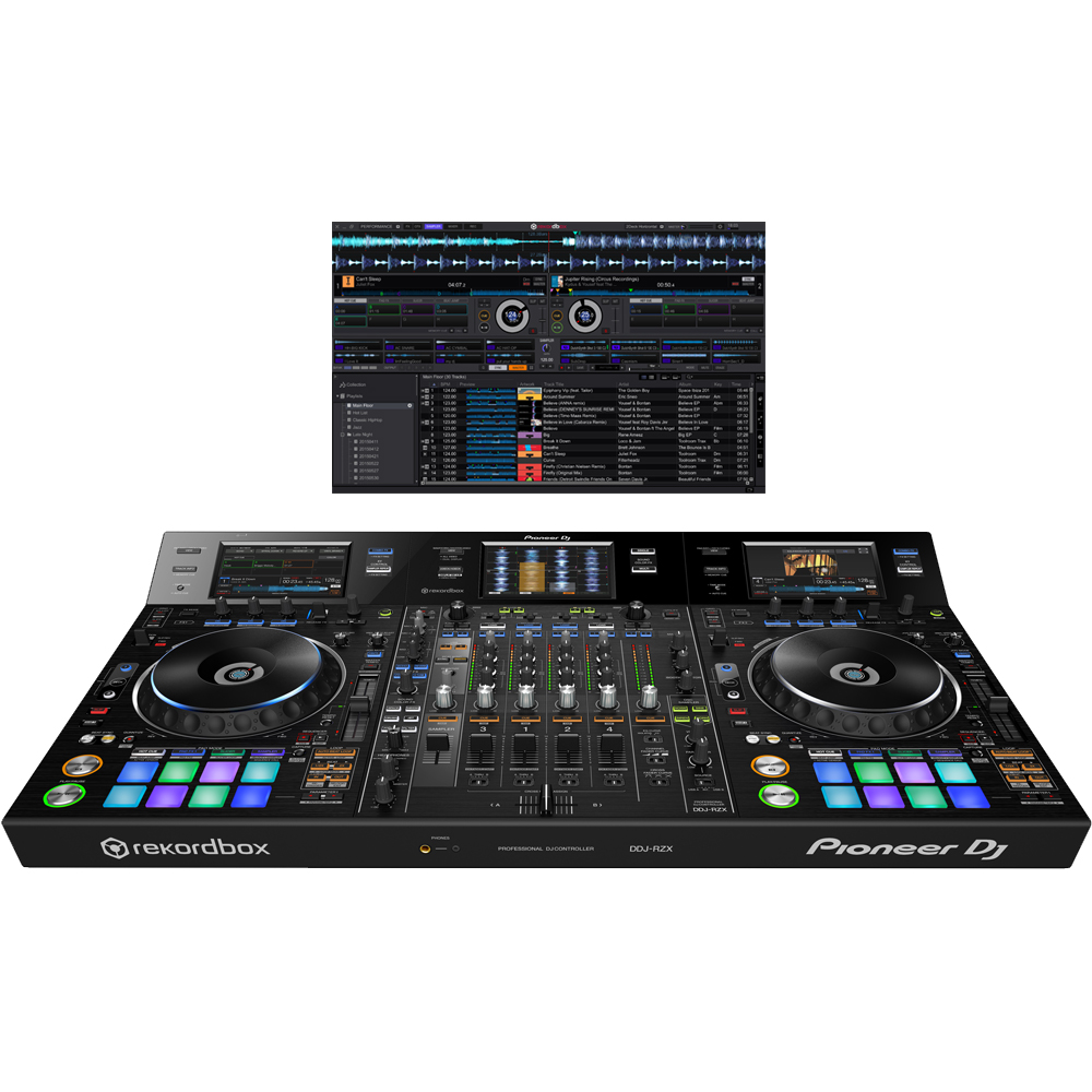 Pioneer DDJ-RZX Rekordbox DJ Controller, Inc Rekordbox DJ, DVS & Video