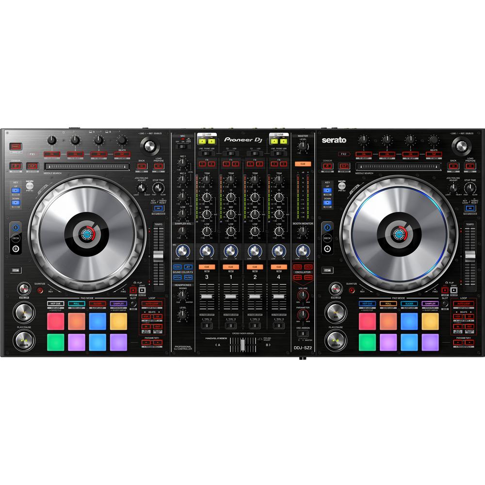 Pioneer DDJ-SZ2 Flagship 4 Channel Controller + Serato DJ Full Version