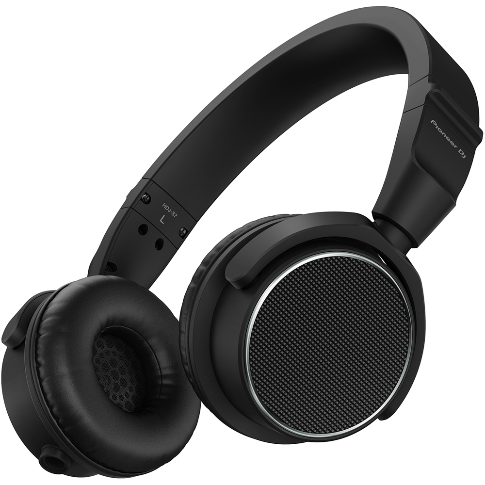 Pioneer HDJ-S7K (Black) Professional On-Ear DJ Headphones