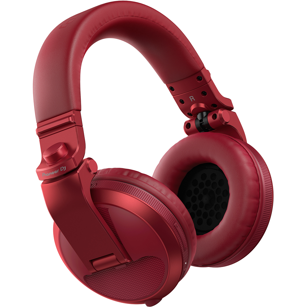 Pioneer HDJ-X5BT Red Bluetooth Wireless DJ Headphones