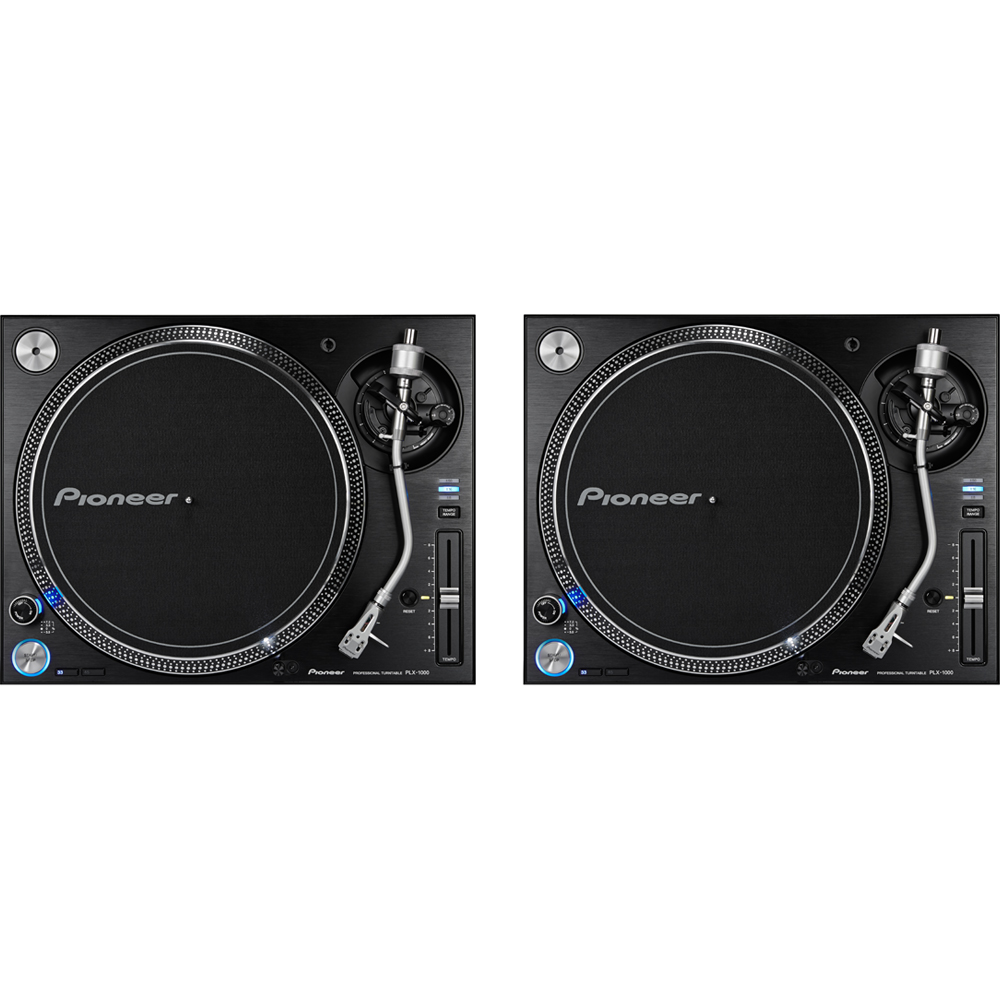 Pioneer PLX1000 High Torque Direct Drive Turntable (Pair)