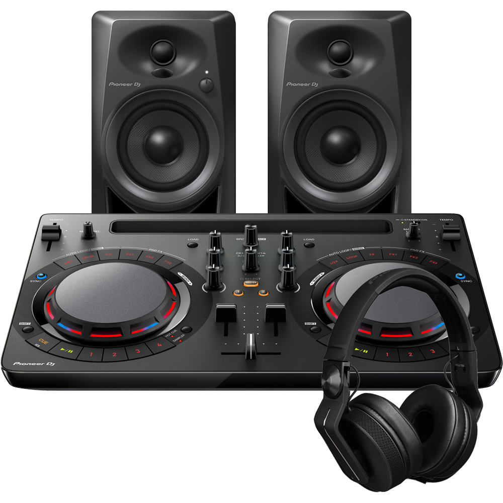 ​Pioneer DDJ-WeGO4, DM-40 & HDJ-700K, DJ In A Box Starter Package Deal