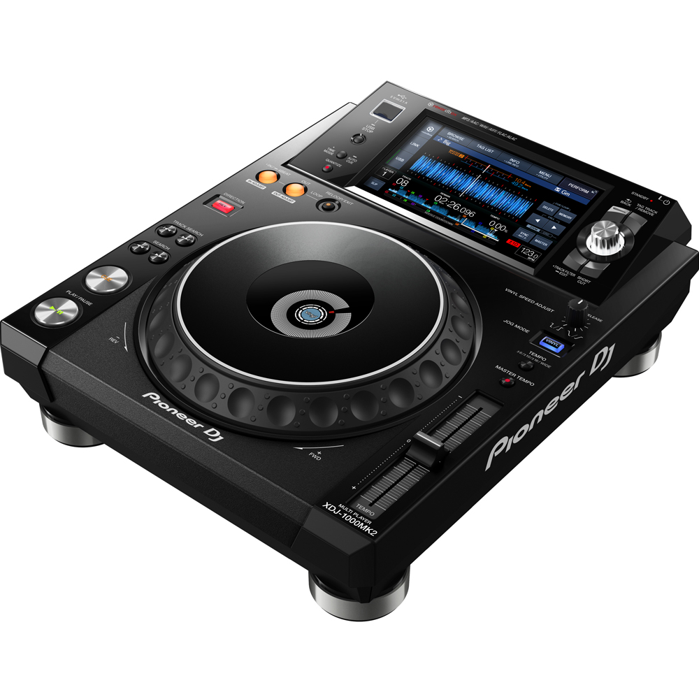 Pioneer XDJ-1000 MK2 Performance Multi-Player With 7'' Touch Screen