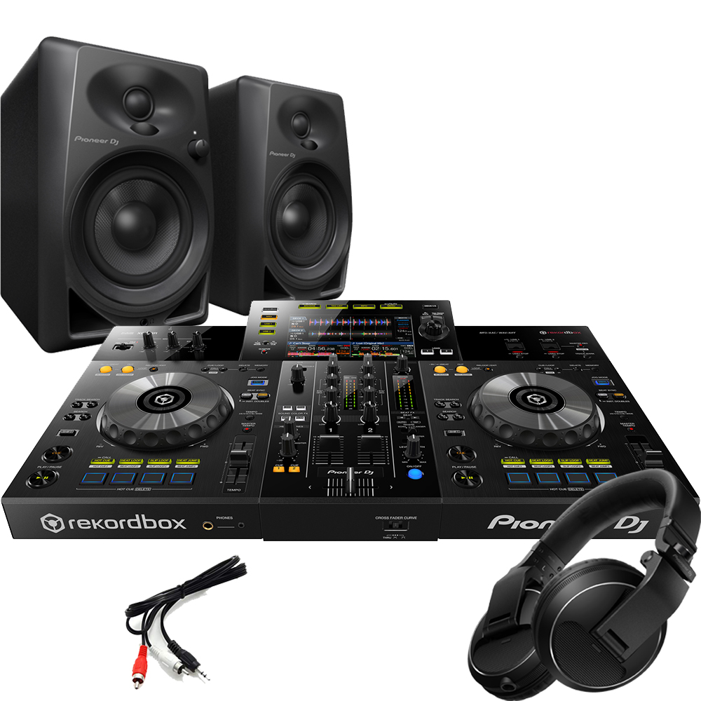 ​Pioneer XDJ-RR Controller, DM-40 Monitors & HDJ-X Headphones Bundle