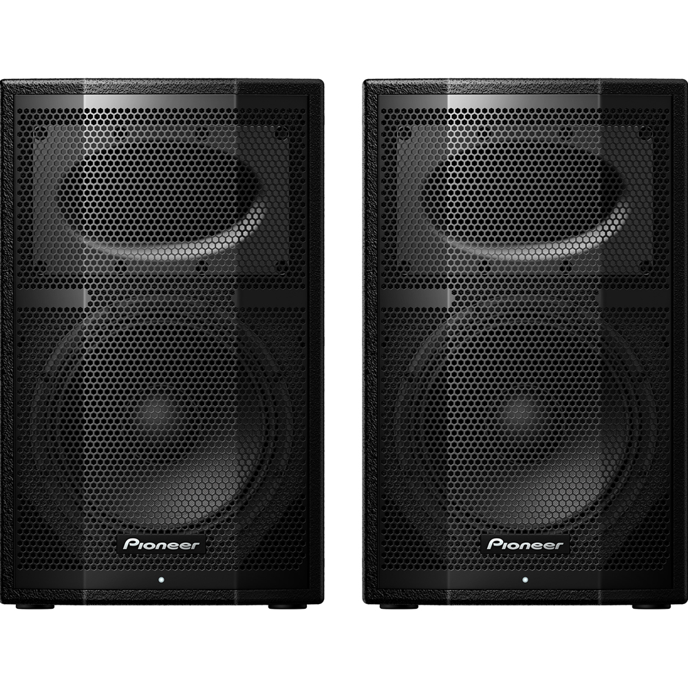Pioneer XPRS10, 1200w RMS 10'' Active PA Speakers (Pair)