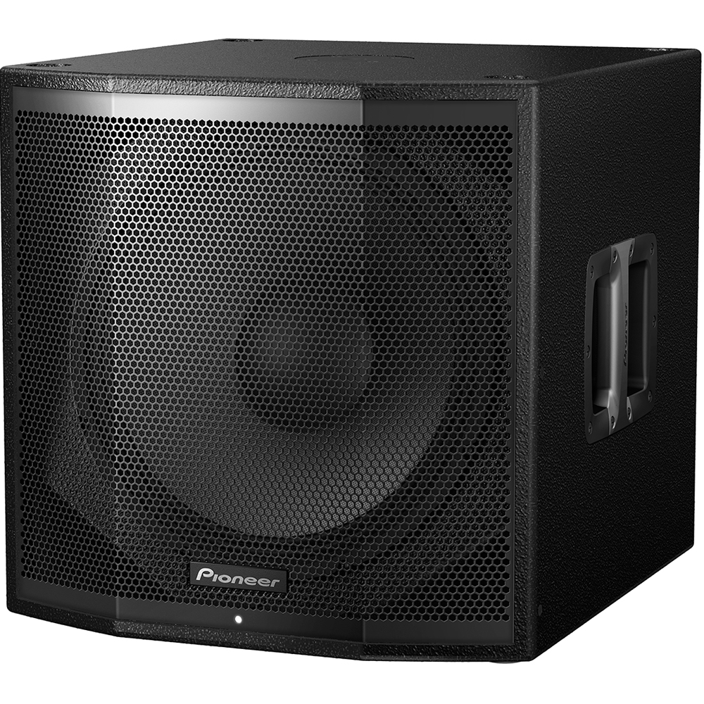Pioneer XPRS115S, 1200w RMS 15'' Active PA Subwoofer