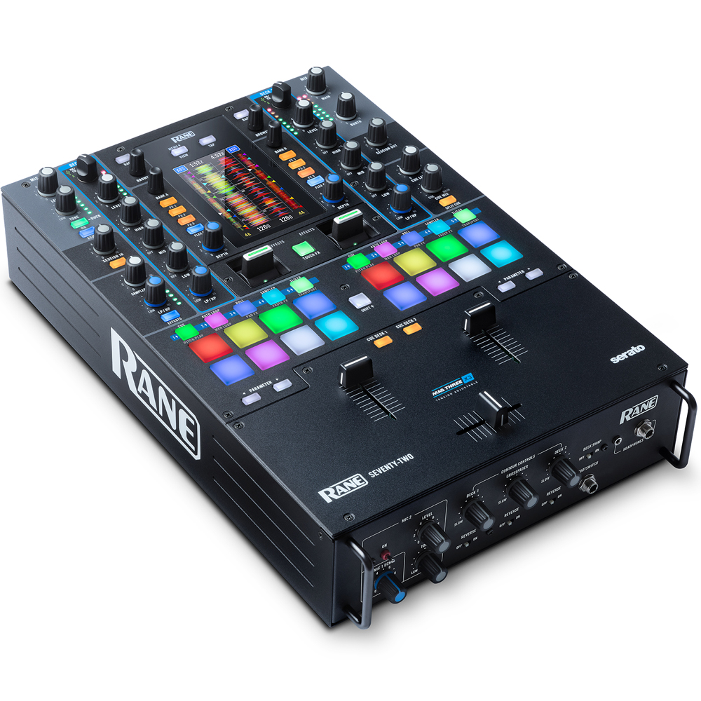 Rane Seventy Two, Advanced Performance Mixer Inc. Serato DJ Pro & DVS
