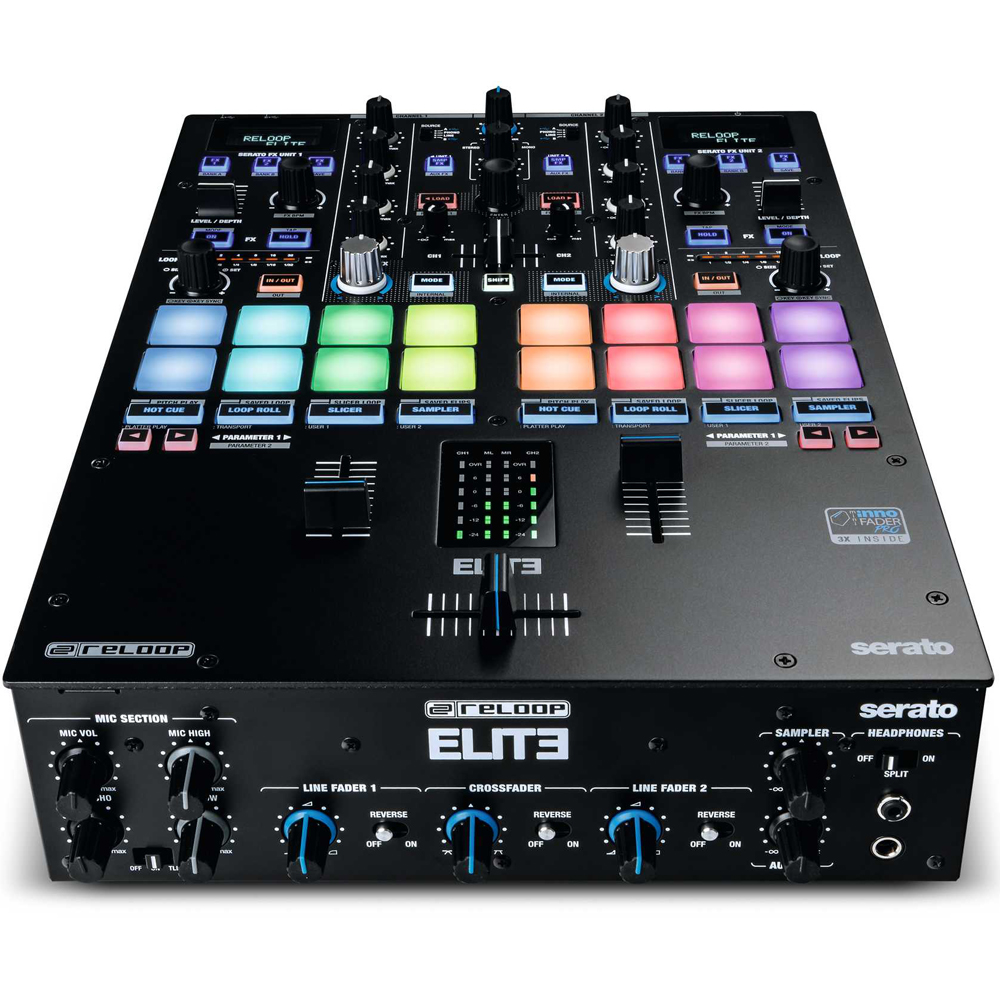 Reloop Elite, High Performance DVS Mixer For Serato
