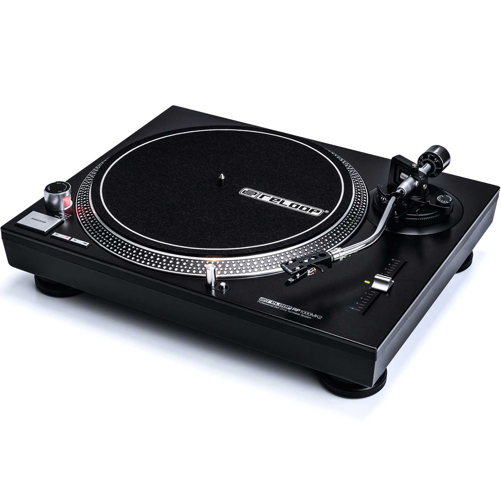 Reloop RP1000MK2 Belt Drive Turntable (Single)