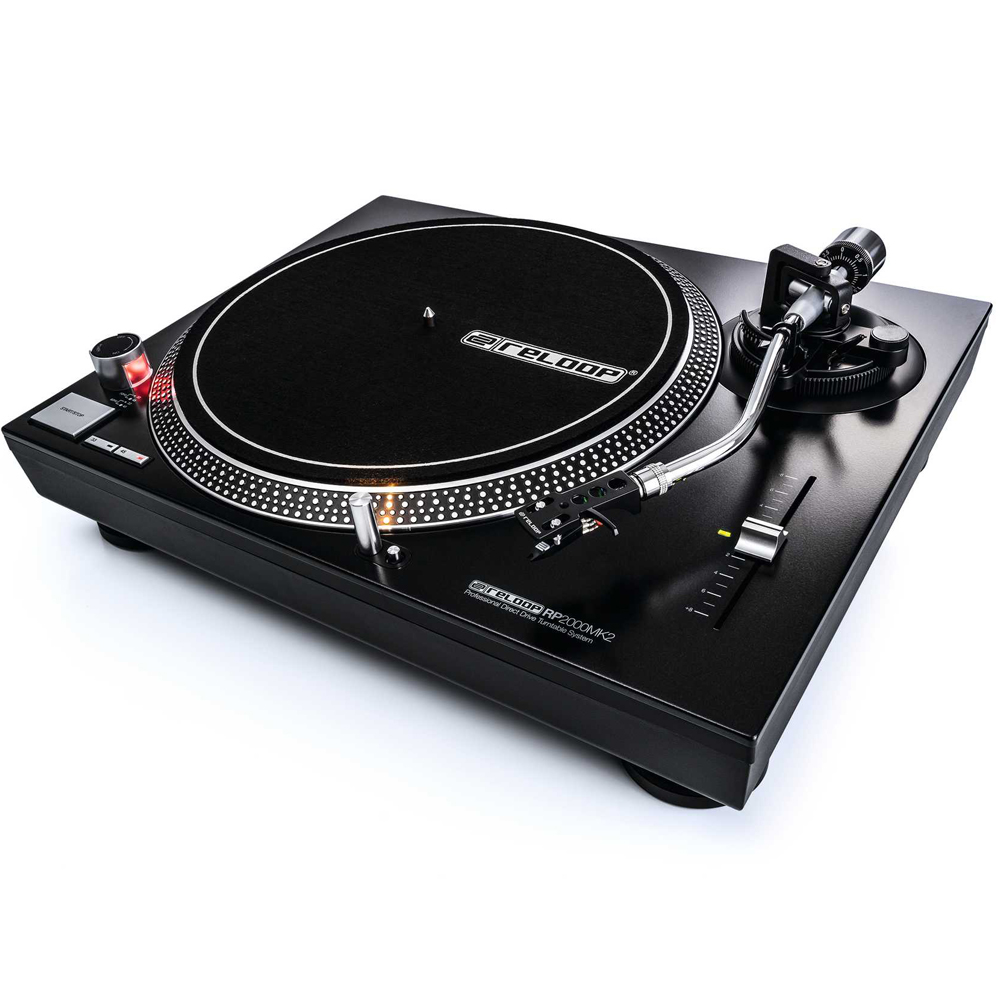 Reloop RP2000MK2 Direct Drive DJ Turntable (Single)