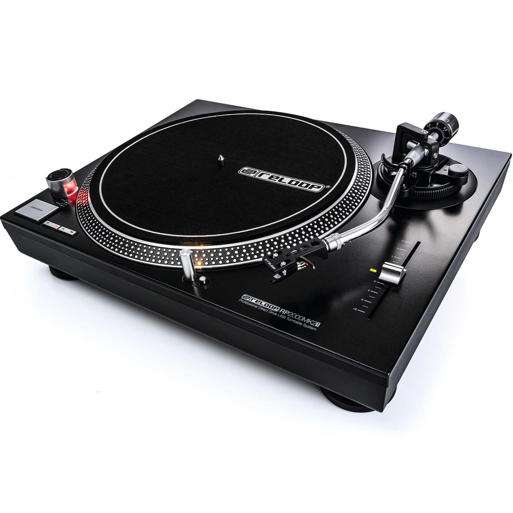 Reloop RP2000MK2-USB Direct Drive DJ Turntable (Single)