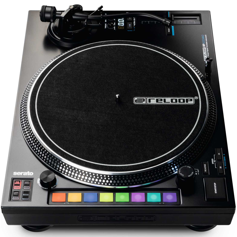 Reloop RP8000MK2 Digital DJ Turntable With MIDI Control (Single)