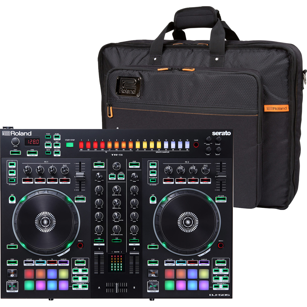 Roland DJ-505, Serato DJ Full Version & Official Carry Bag Bundle Deal
