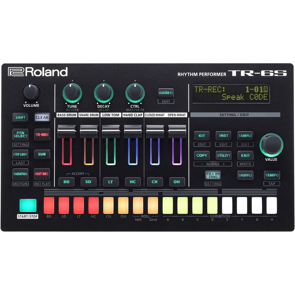 Roland TR-6S Compact Rhythm Composer With Sample Playback