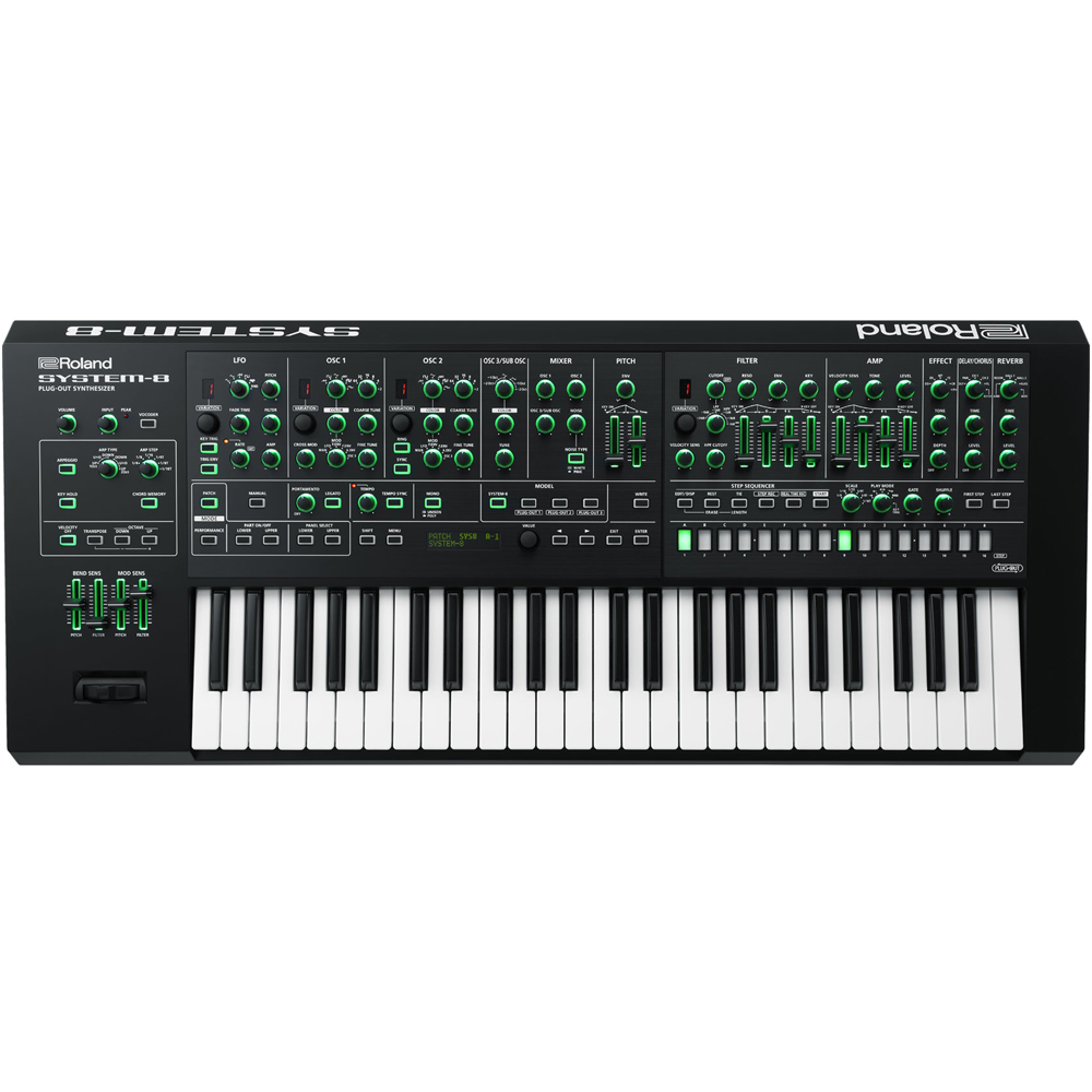 Roland Aira System-8 Plug-Out Synthesizer + FREE Keyboard Stand