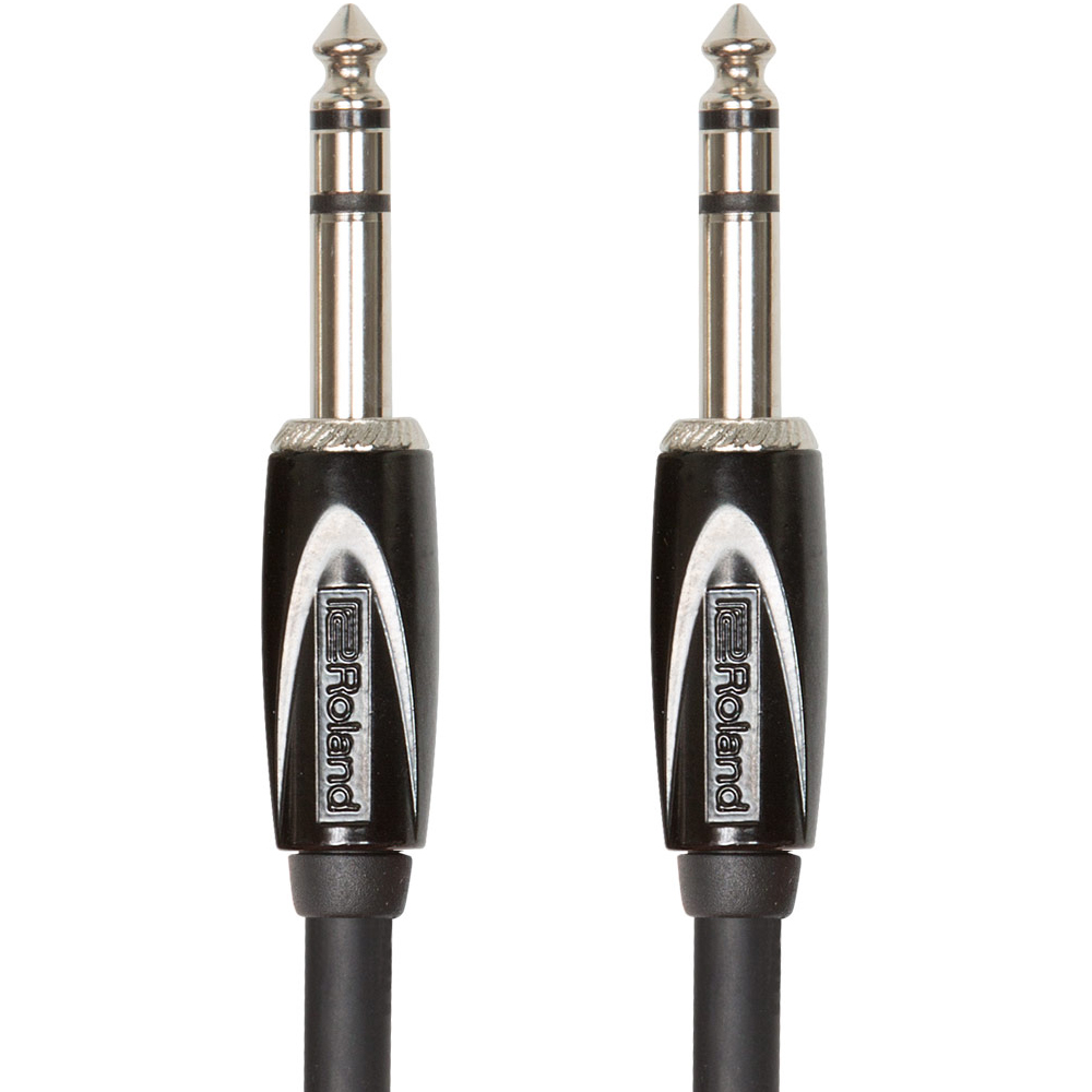 Roland BLACK SERIES 1/4'' TRS/TRS Balanced Cable (3mtr)