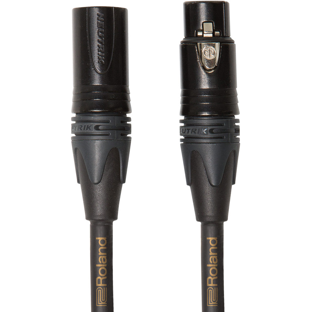 Roland GOLD SERIES XLR Microphone Cable (3mtr)