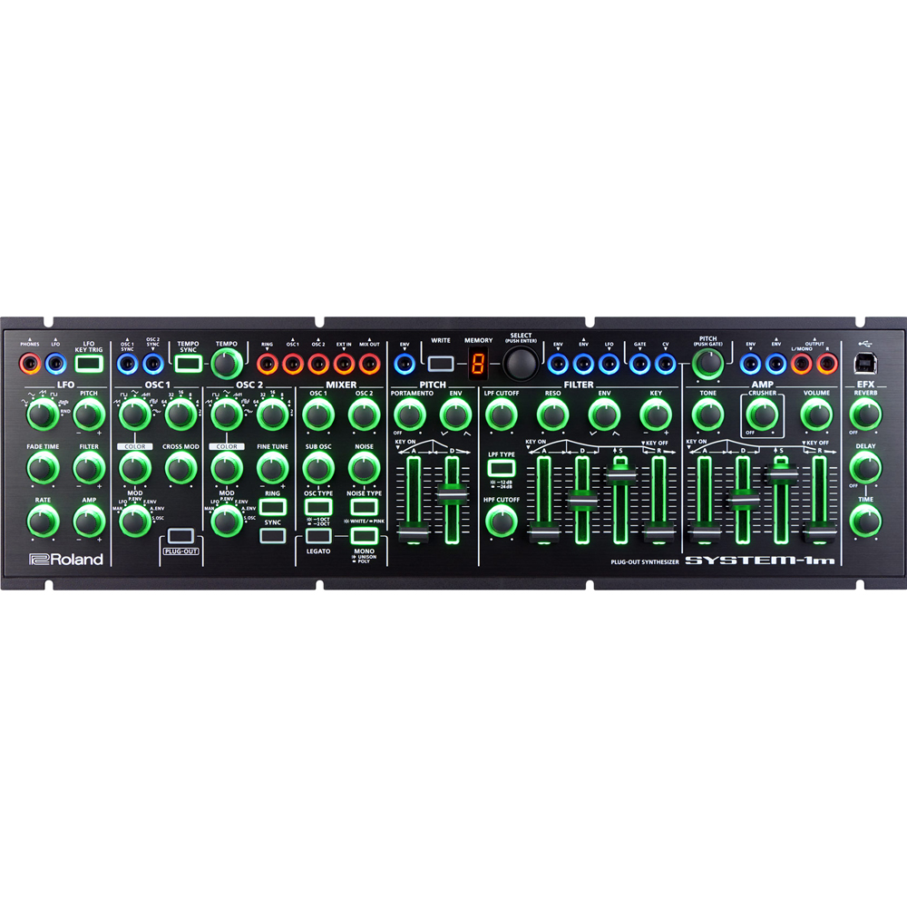Roland Aira System-1m Semi Modular Plug-Out Synthesizer