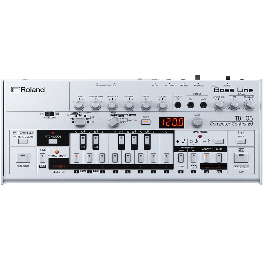 Roland Boutique TB-03 Acid/Bass Module, Based On The Classic TB-303