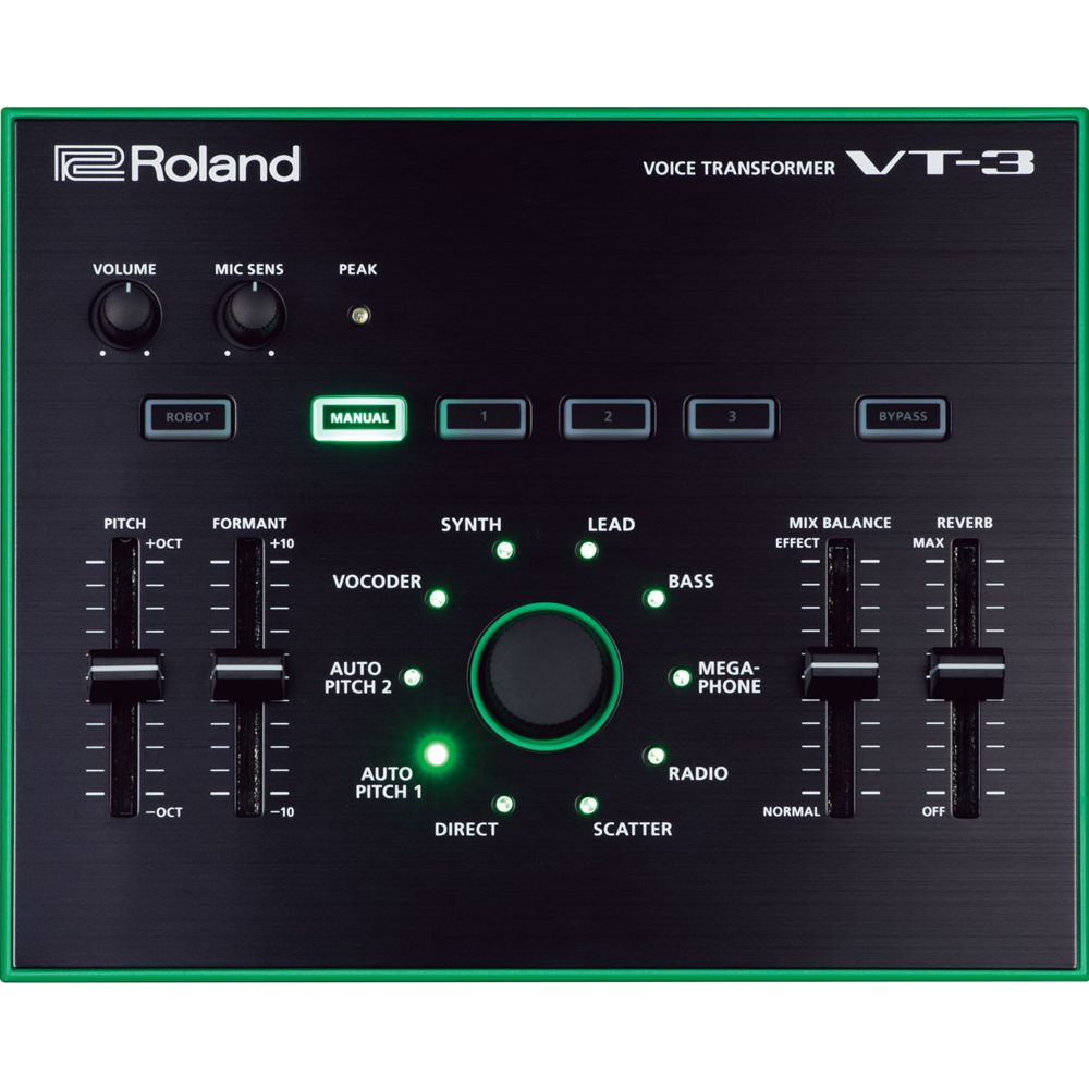 Roland Aira VT-3 Voice Transformer Synthesizer (Ex Demo)