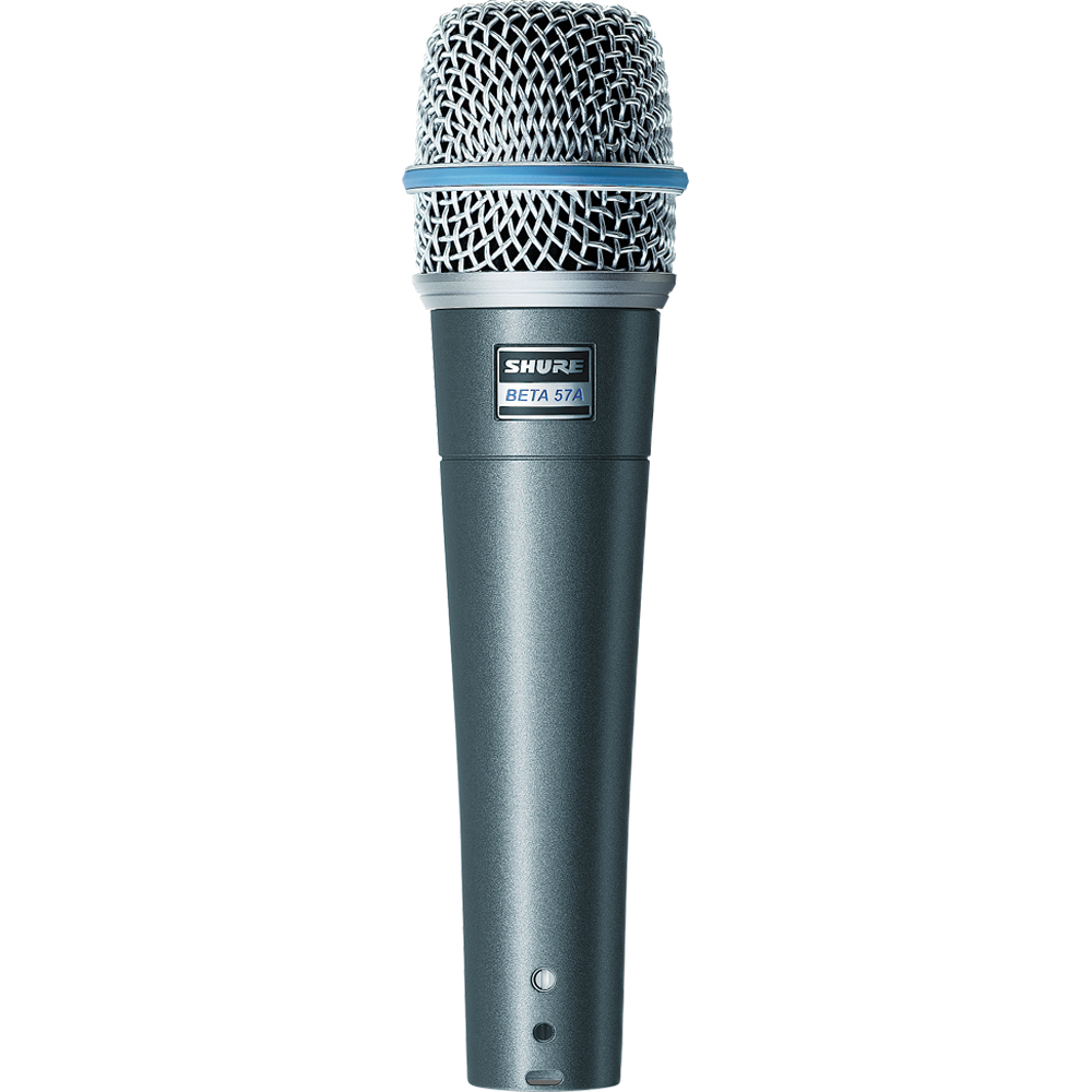 Shure Beta 57A Professional Supercardioid Dynamic Instrument Microphone