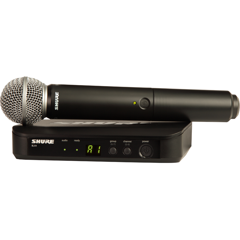 Shure BLX24/SM58 Wireless UHF Vocal Microphone