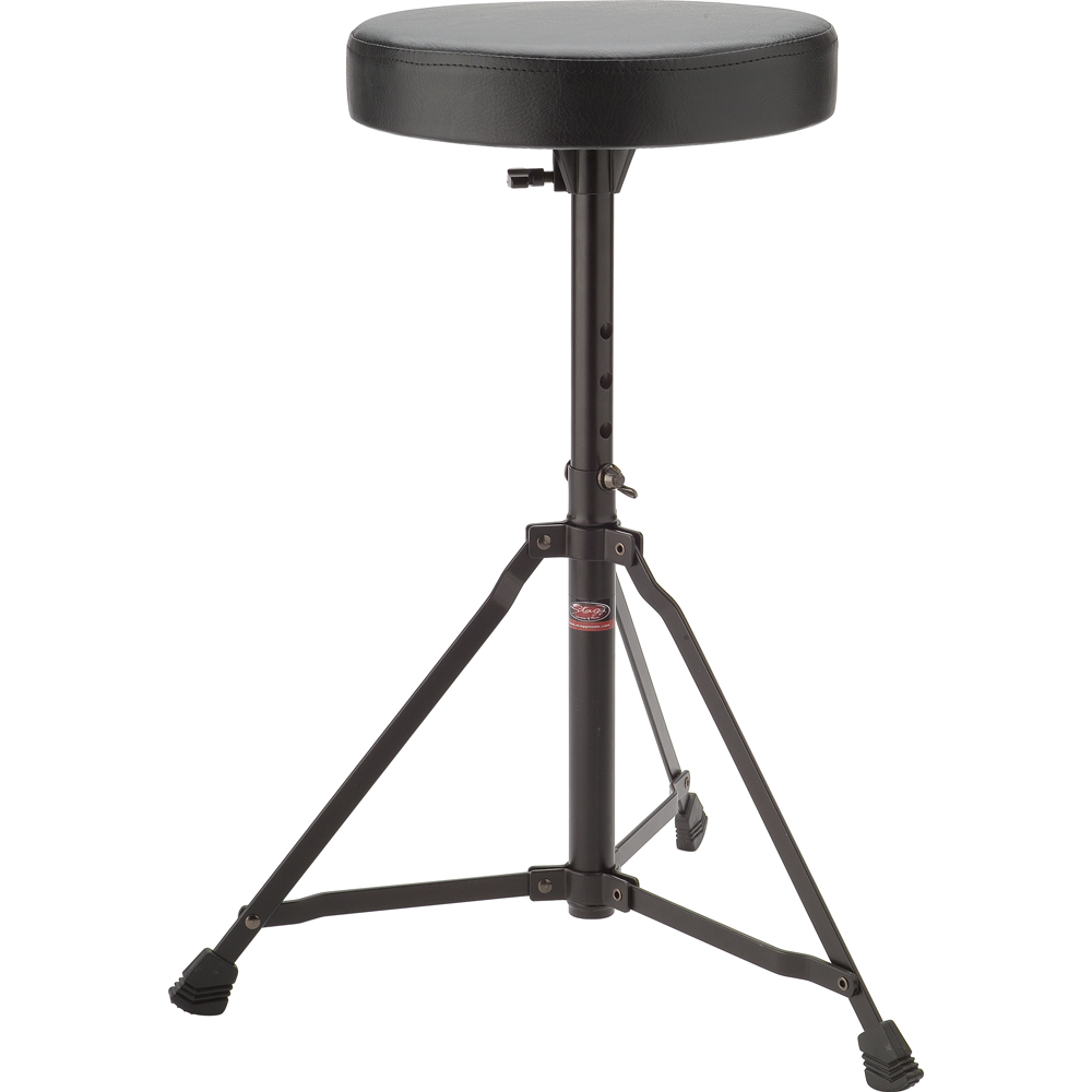 Stagg Height Adjustable Drum Stool (DT-22BK)