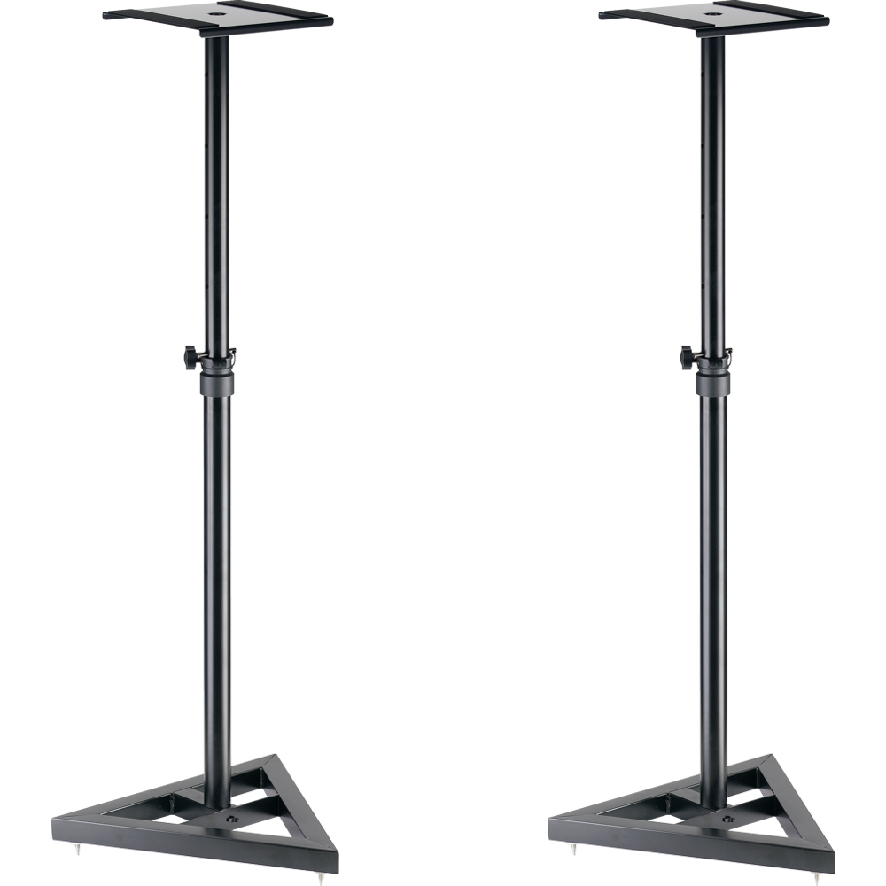 Stagg SMOS-10 Height Adjustable Studio Monitor Stands (Pair)