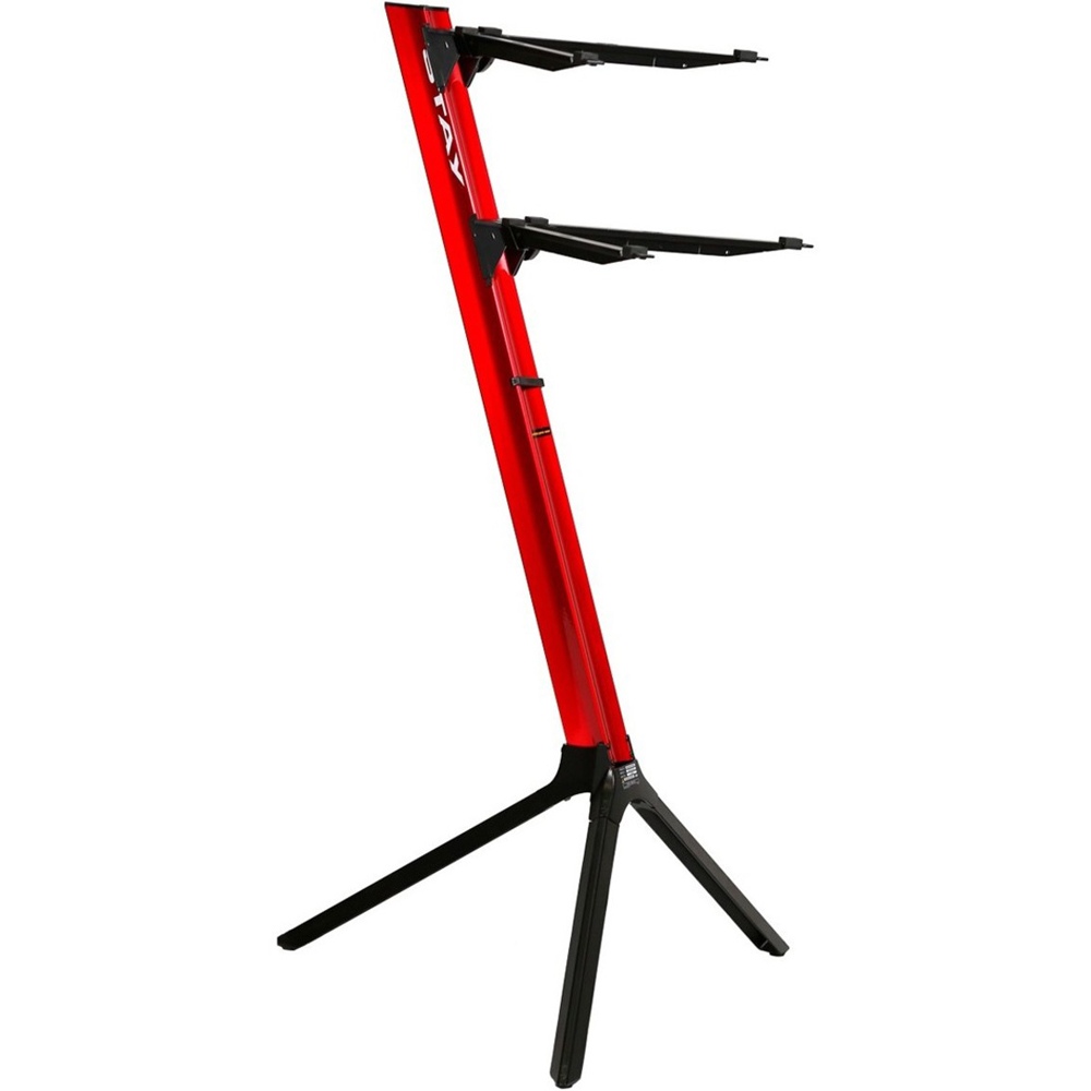 Stay 2-Tier Slim Keyboard Stand (Red)