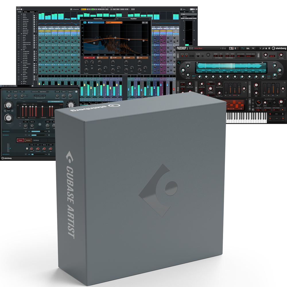 Steinberg Cubase Artist 11 Upgrade From Cubase AI (48155)