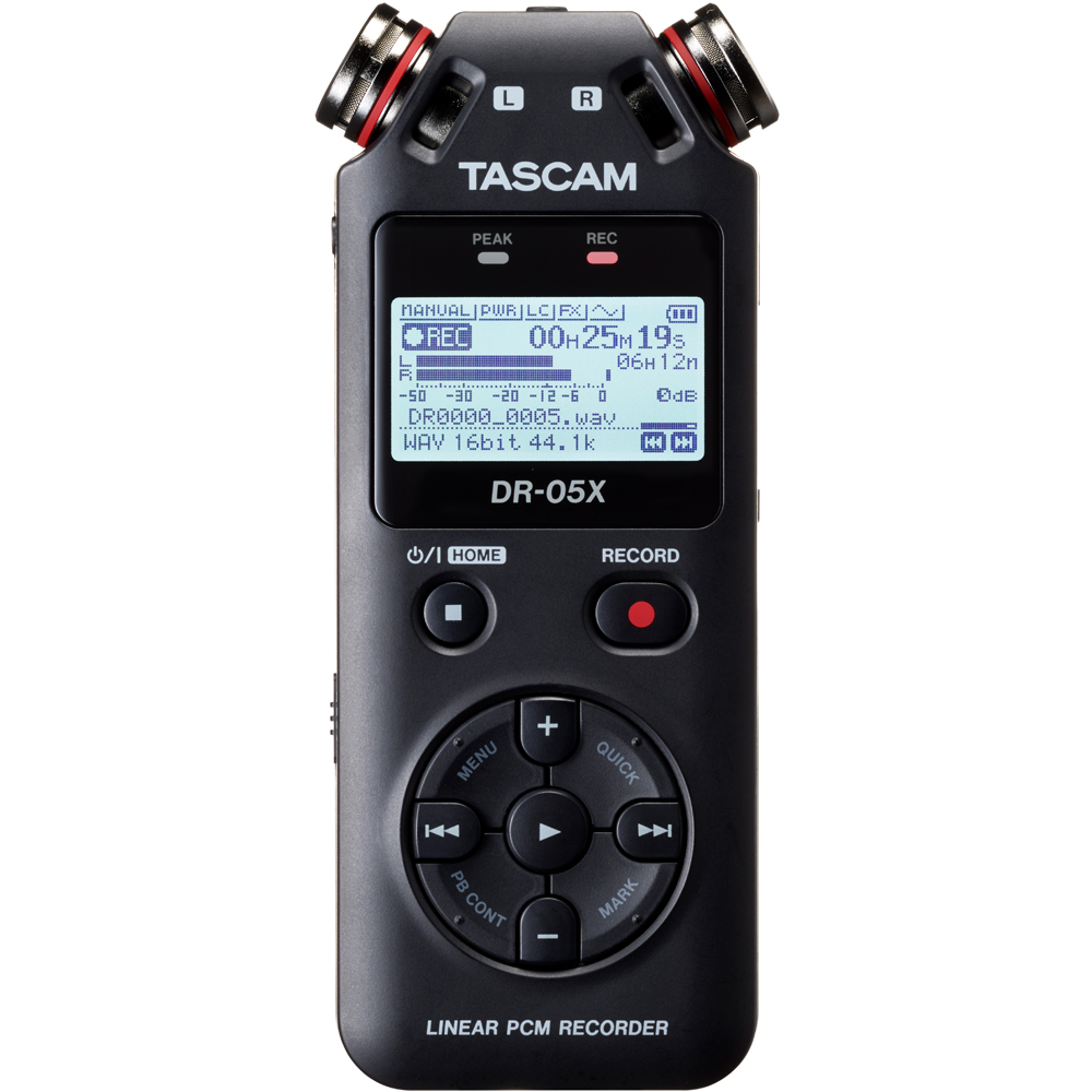 Tascam DR-05X Portable Audio Recorder & USB Interface