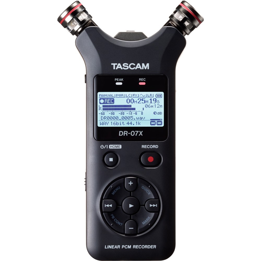 Tascam DR-07X Portable Audio Recorder & USB Interface