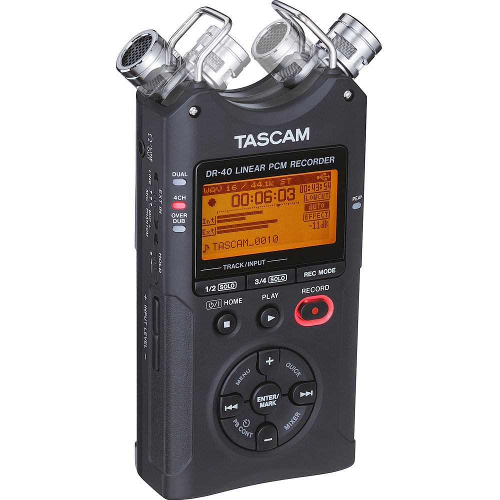Tascam DR-40 Version 2 Linear PCM Recorder 2GB