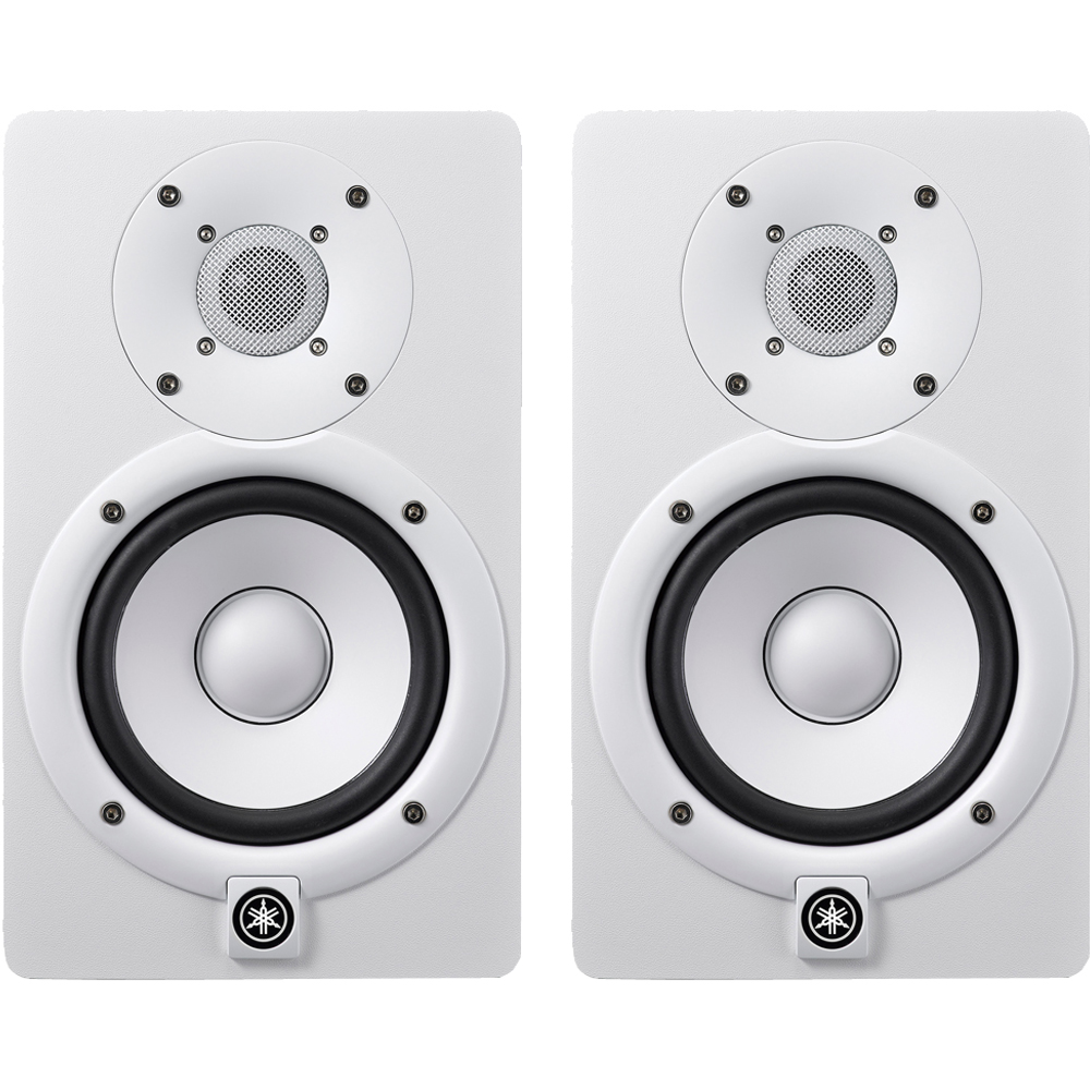 Yamaha HS5 White Active Studio Monitors (Pair)