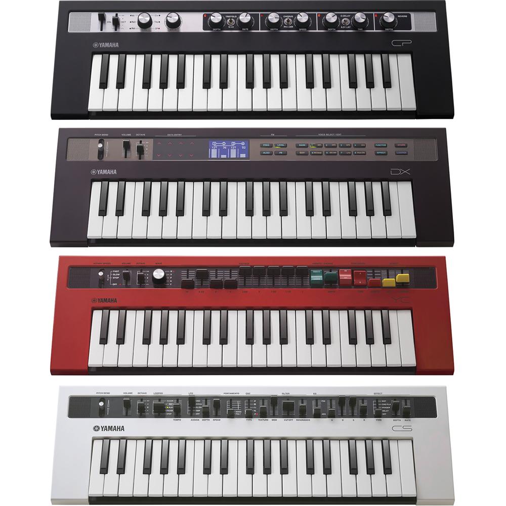 Yamaha Reface Bundle Deal - All 4 Units (CP, DX, YC & CS)