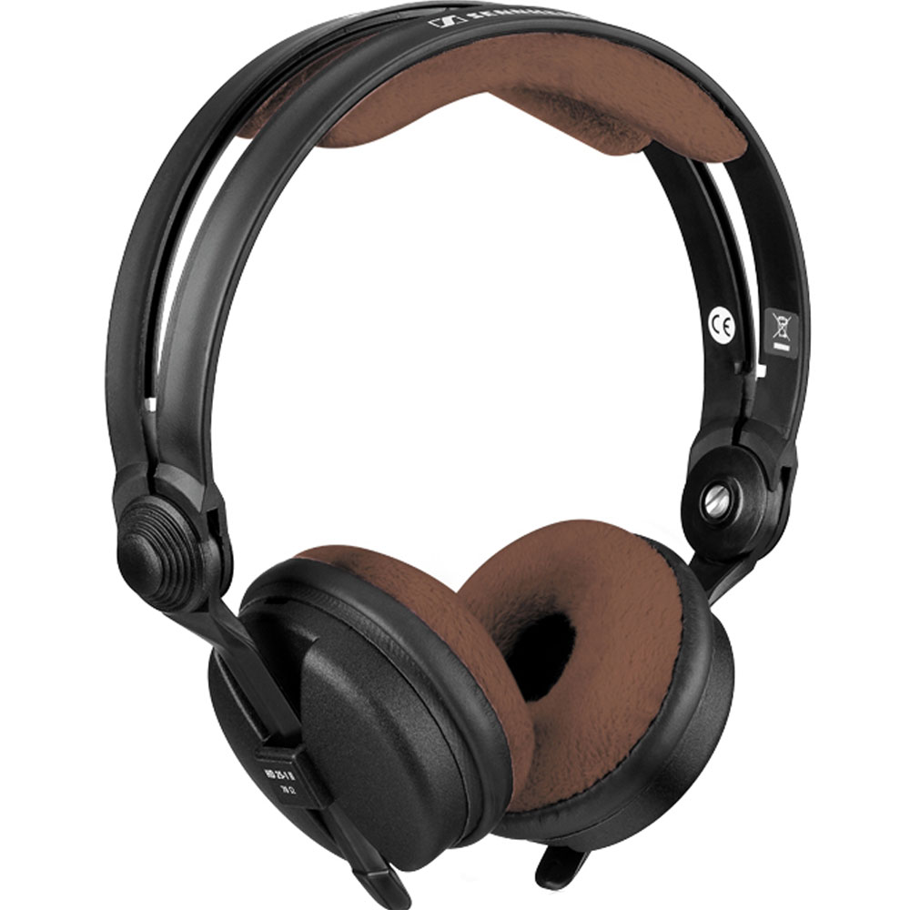 Zomo Teddy Brown Velour Replacement Pad Set for Sennheiser HD25